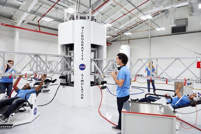 Simulador de Microgravedad en el Kennedy Space Center